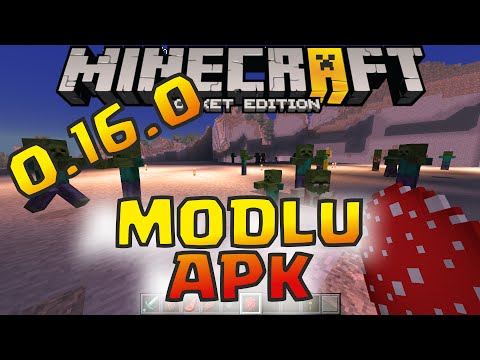 Minecraft Pocket Edition 0.16.0 Modlu APK İndir