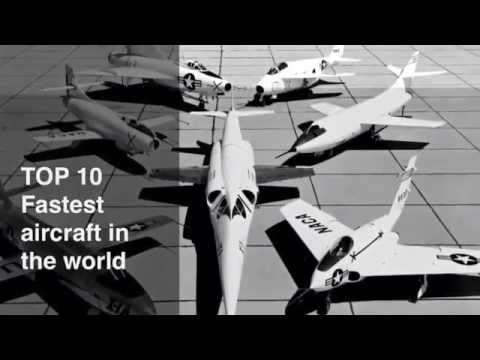 TOP 10 fastest planes in the world