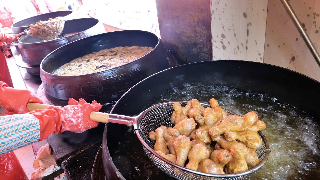 가마솥만 7개? 하루에 1,400Kg 을 파는 통닭 대통령 사장님, 대혜자 가격 ! | Selling 1,400 Kg Chicken in a Day | Korean food