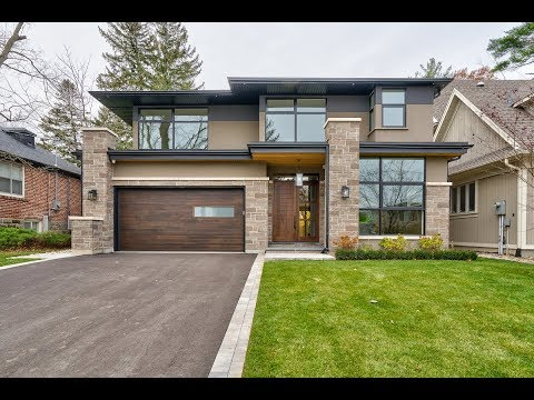 129 Cumberland Dr, Mississauga, Custom Built Modern Home For Sale By The Papousek Team