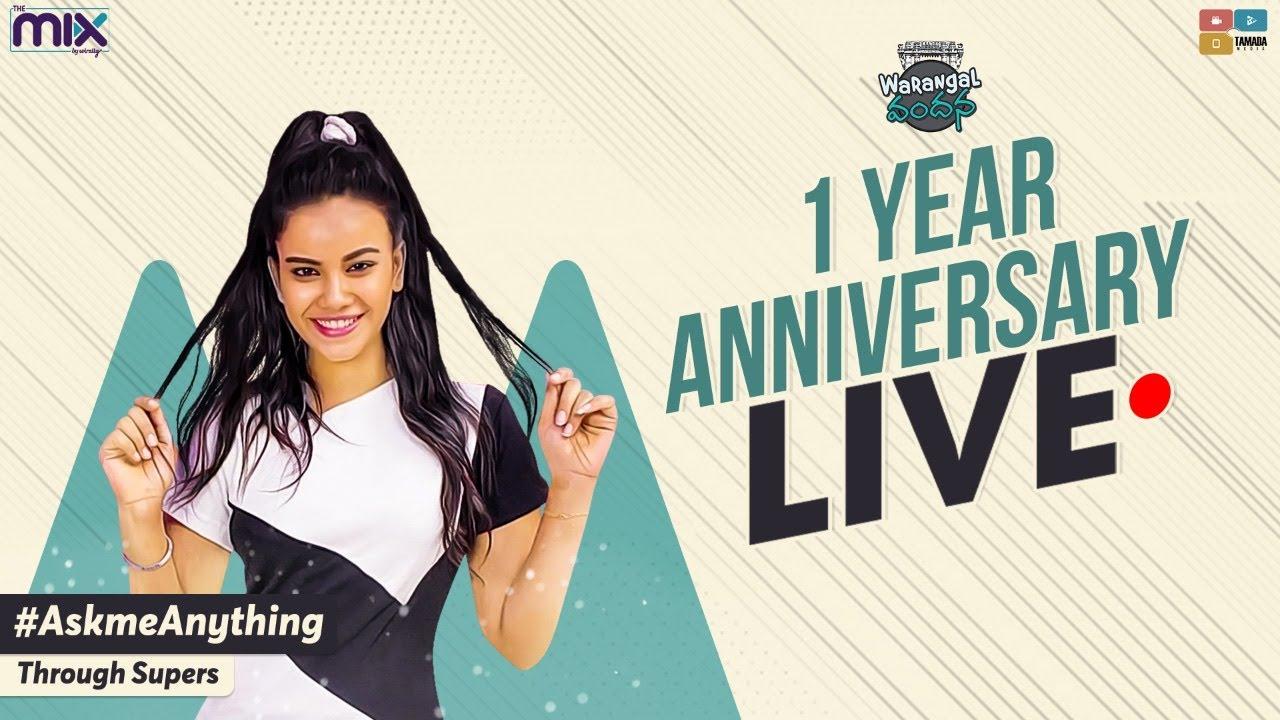 1 year Anniversary Live   Warangal Vandhana   The Mix