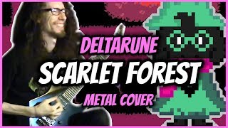 "DELTARUNE METAL ""Scarlet Forest"" - Cover by ToxicxEternity"