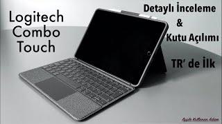iPad'i Macbook Yapan Klavyeli Trackpadli Kılıf. Logitech Combo Touch, Kutu Açılımı ve Tanıtım.