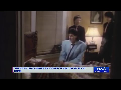 `The Cars` lead singer Ric Ocasek found dead in Manhattan home at 75