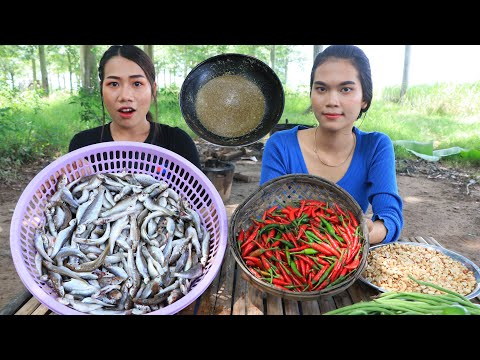 Cooking fish salad with Prahok and vegetable recipe - Cooking skill