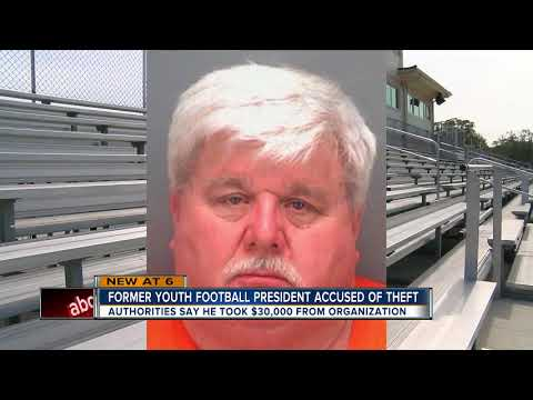 Former youth football president arrested for stealing thousands of dollars