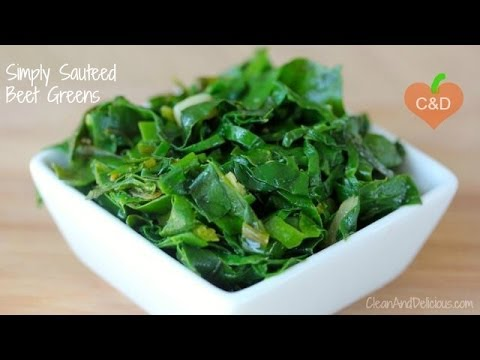 Simply Sauteed Beet Greens - Clean & Delicious®
