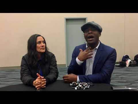 'Timeless' WonderCon 2018  with Sakina Jaffrey & Paterson Joseph