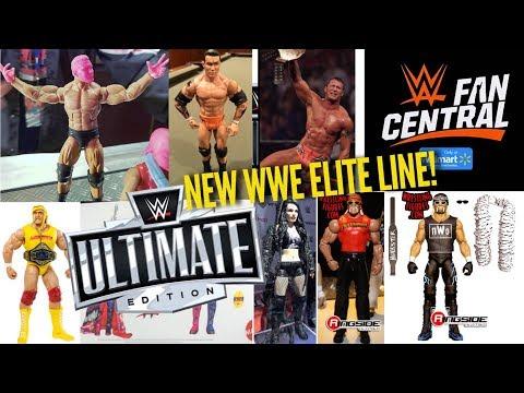 NEW WWE ELITE LINE + TONS OF WWE FIGURE NEWS!