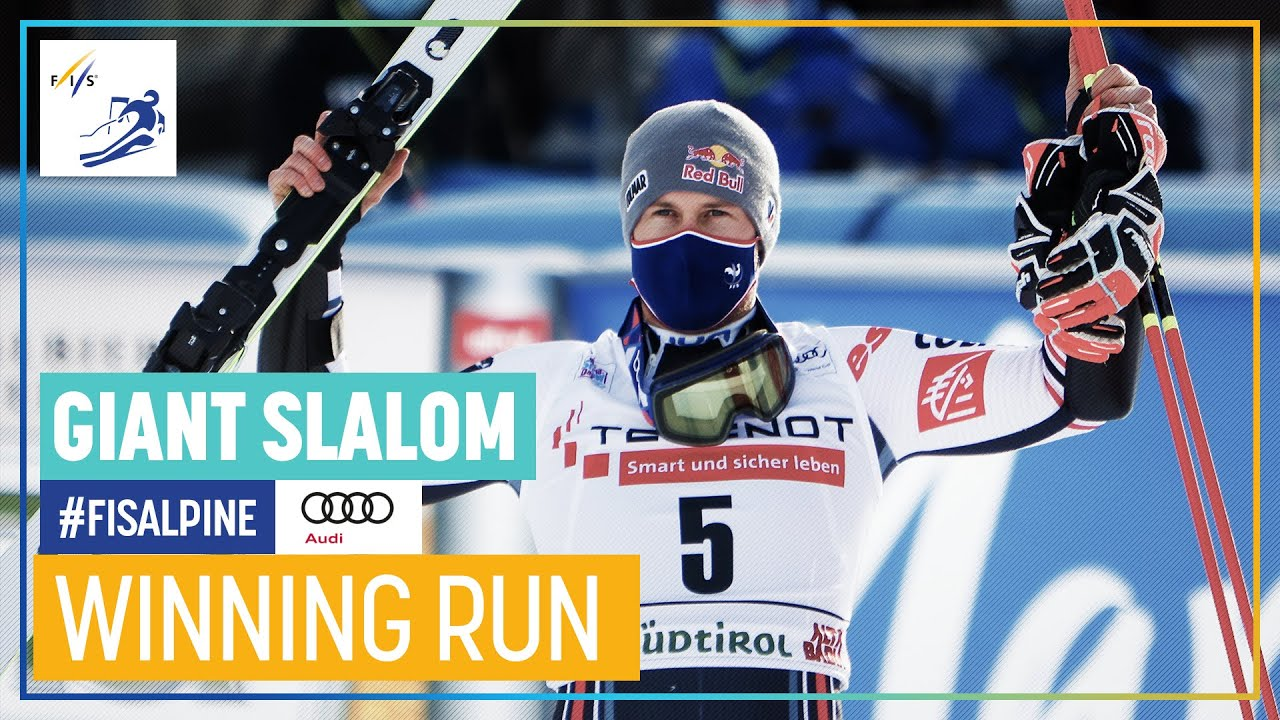 Alexis Pinturault is Back to the Top of the Podium in Alta Badia Giant Slalom