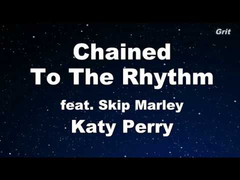 Chained To The Rhythm ft. Skip Marley - Katy Perry Karaoke 【No Guide Melody】 Instrumental