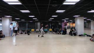 [170120寒訓 Crew Battle] Judge Solo - 阿昌 (Girl Style) | 長庚熱舞