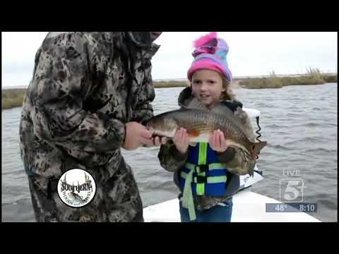 Southern Woods and Waters: The Girls go Fishing! p1