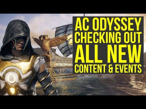 Assassin's Creed Odyssey DLC - Checking Out All The New Stuff (Weekly Reset  August 13)