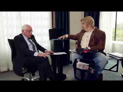 Sacha Baron Cohen interviews Bernie Sanders WHO IS AMERICA