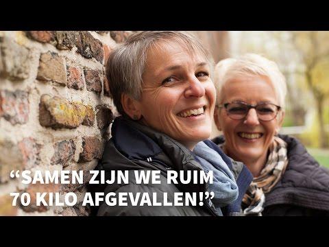 """Lidia en Hinke: """"Samen zijn we ruim 75 kilo afgevallen"""""""