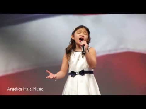 USA National Anthem Performed by Angelica Hale - Ace Convention Atlanta 2017