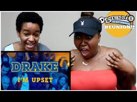 Drake - I'm Upset (Official Music Video)   Degrassi Fans Reaction