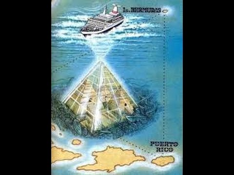 Potential Giant Crystal Pyramid Discovered In Bermuda ... |Pyramid Bermuda Triangle
