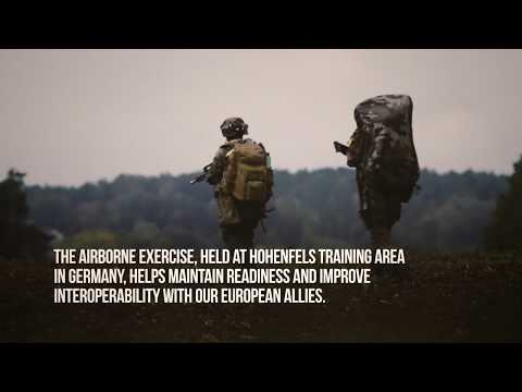 U.S. Army Europe-led Exercise Swift Response 17-2 combines the efforts of over 6,000 multinational participants from 12 NATO and European partner nations. Video by Travis Burcham.