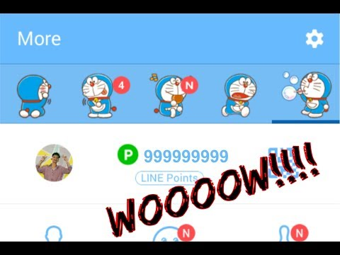 HOW TO GET LINE POINTS FREE!!! | 100% WORK | Cuma Pake Android