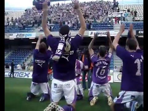 La película del ascenso del Real Valladolid en Tenerife 2007 (y la fiesta en Pucela)