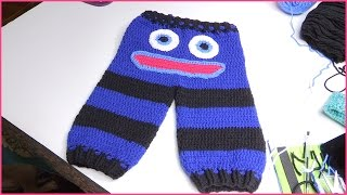 How to Crochet Baby Monster Pants Size 6-12 Months