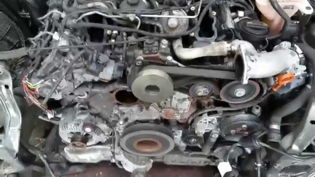 Audi 3.0 tdi engine for sale - check our ebay shop - YouTube