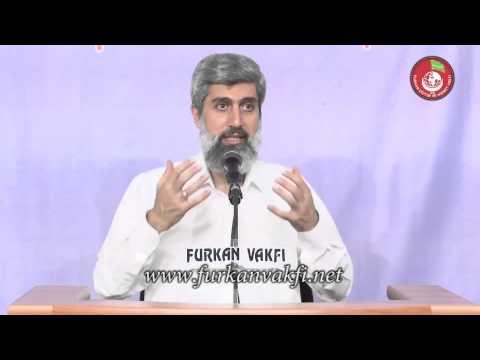 Cinlere, cin olan peygamber gönderilmemesinin hikmeti nedir?   Alparslan Kuytul Hocaefendi