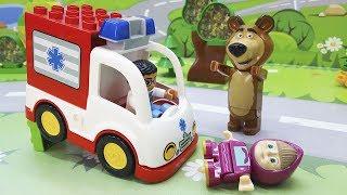 Іграшки компанії PlayBIG Bloxx у відео для дітей - Доросла Маша! Розвиваючі відео