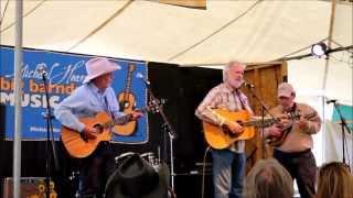 "Sonny Throckmorton sings his song ""THE COWBOY RIDES AWAY"""