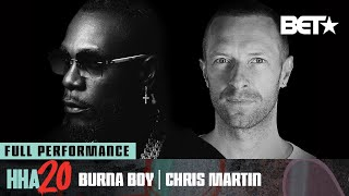 "Watch Burna Boy & Chris Martin's Powerful Performance Of ""Monsters You Made"" | Hip Hop Awards 20"
