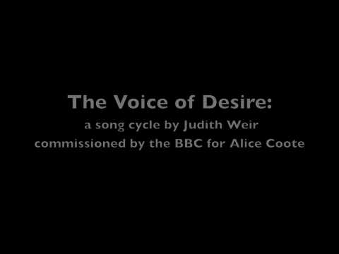 WEIR: The Voice of Desire: 3. Written on Terrestrial Things