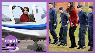 Kate Middleton: Royal Air Force Cadet Commandant