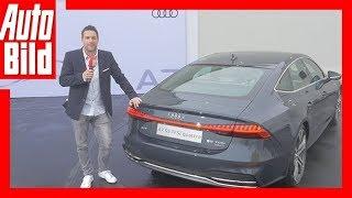Audi A7 Sportback (2017) / Neuvorstellung / Premiere / Review