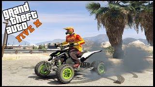 GTA 5 ROLEPLAY - YZF 450 HAYABUSA POWERED FOURWHEELER - EP. 604 - CIV