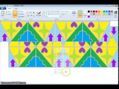 how to create youtube channel art microsoft paint