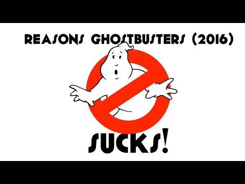 Reasons GHOSTBUSTERS (2016) Sucks!
