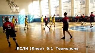Гандбол. КСЛИ (Киев) - Тернополь - 12:3 (1 тайм). Турнир в г. Заставна, 2002 г. р.