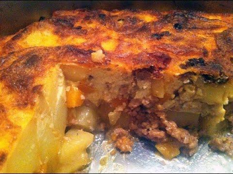 Рецепта за мусака с кайма и картофи