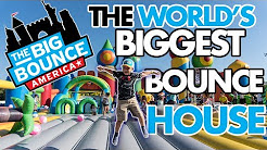 World's biggest BOUNCE HOUSE : Miami