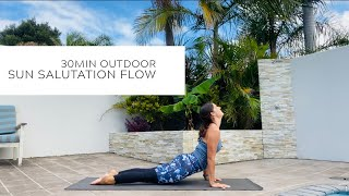 Sun Salutations | Outdoor Sunshine Flow | Boost Mood & Energise your Body