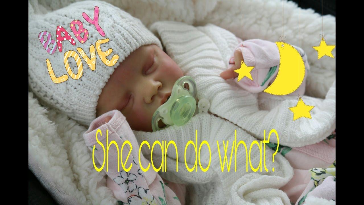 Reborn Baby Really Sucks Pacifier Life Like Doll My Fake