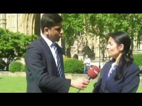 British MP Priti Patel on Narendra Modi on eve of election results