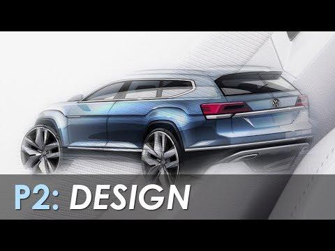 2018 VW Atlas Development Documentary, Part 2: Design - AUTO VIDZ