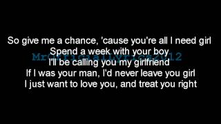 Justin Bieber - Boyfriend (Lyrics) *HQ AUDIO* Mp3