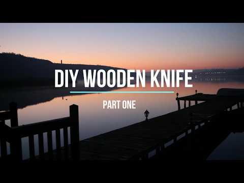 DIY Wooden Knife from Stabilised Old Teak Decking - Part One