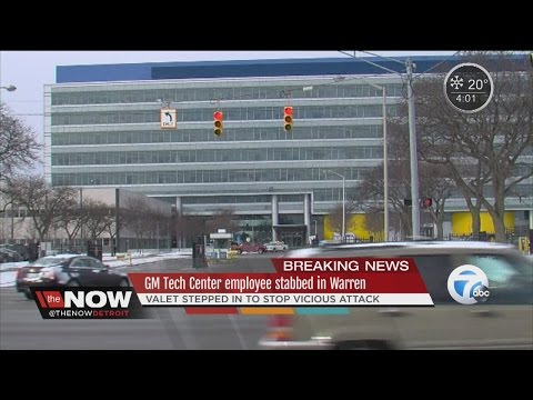 Stabbing at GM Tech Center