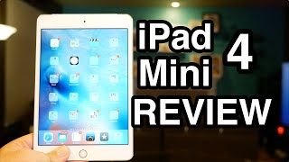 Apple iPad mini 4 Review! Worth it? (Gold 128GB LTE)