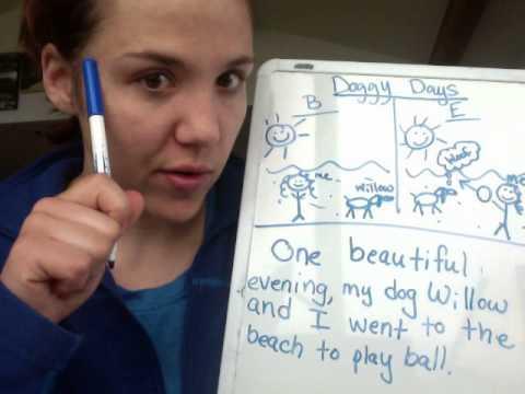 Kindergarten Personal Narrative Writing Lesson AKVA